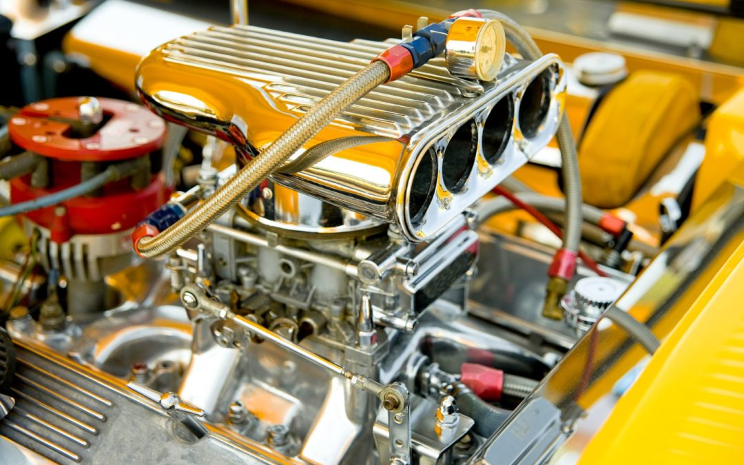 Chrome plating carburetor horsepower