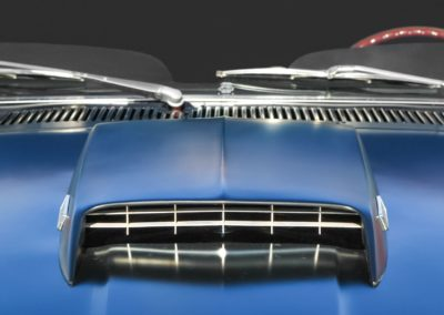 Chrome plating muscle car