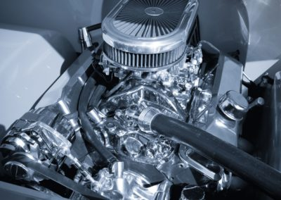 chrome plating supercharged engine