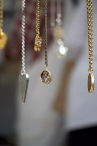 gold-plated jewellery.